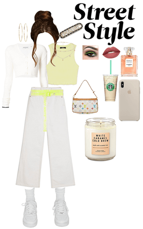 My Neon Lime Street Style