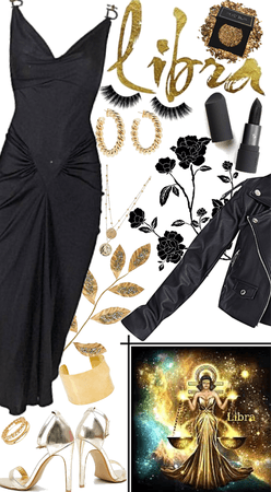 Libra Black And Gold