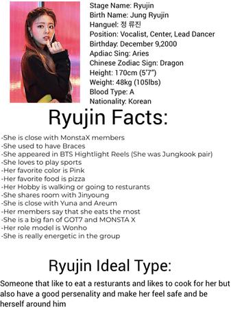 Ryujin profile