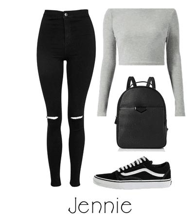 College with Jennie | BlackPink