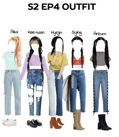 S2 EP4 Outfits