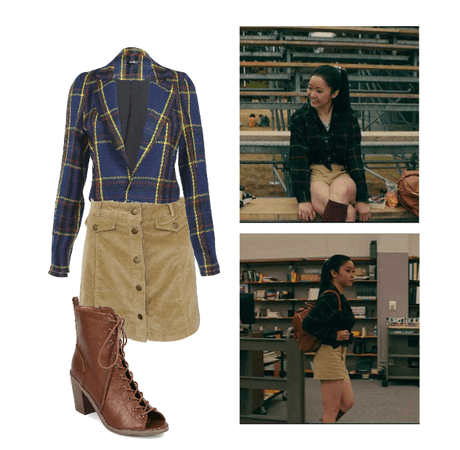 Lara Jean Covey Fashion