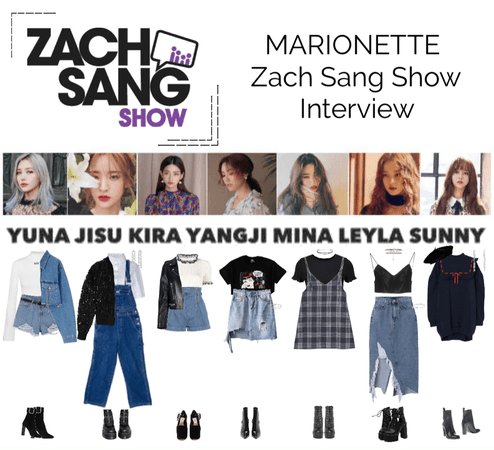 MARIONETTE (마리오네트) Zach Sang Show Interview