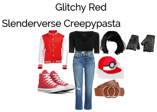Glitchy Red (Slenderverse Creepypasta)