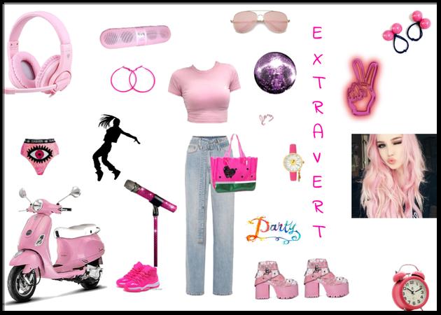 Pink Extravert💘💗💘