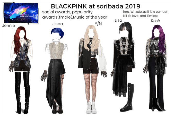 BLACKPINK at soribada 2019