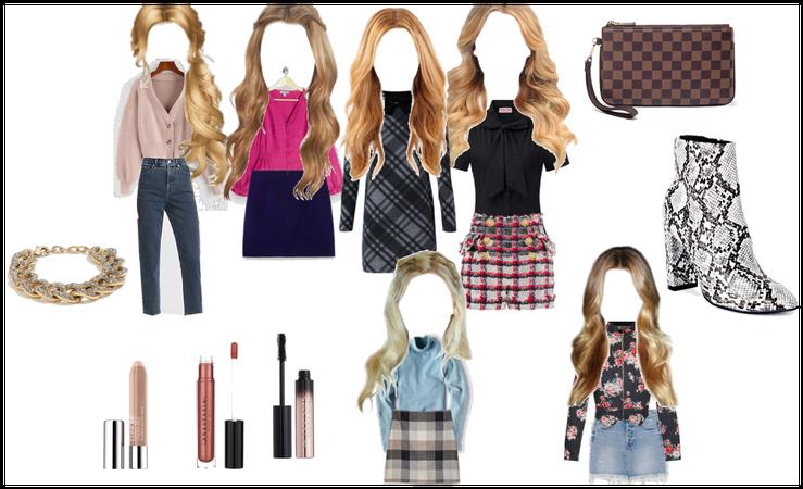 Clique Blonde Spring Outfits