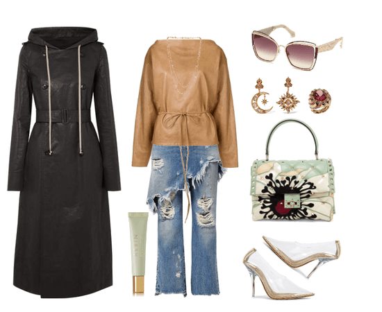 Relaxed Trench Coat Style