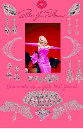 Marilyn Monroe - diamonds are a girls best friend