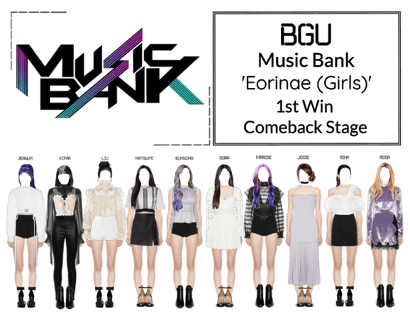 BGU Music Bank 'Eorinae (Girls)' Comeback Stage
