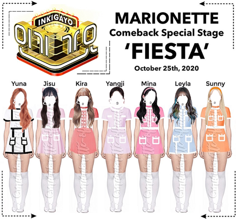 MARIONETTE (마리오네트) [INKIGAYO] Comeback Special Stage | ❝𝐖 𝐈 𝐒 𝐇❞ - FESTA 2020