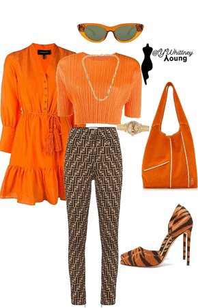 Orange/Fendi