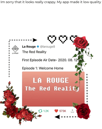 La Rouge Tweet- The Red Reality (2020. 08. 10)