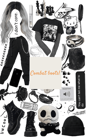 combat boots outfit!!!