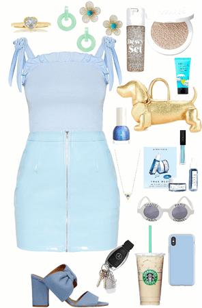 fancy blue