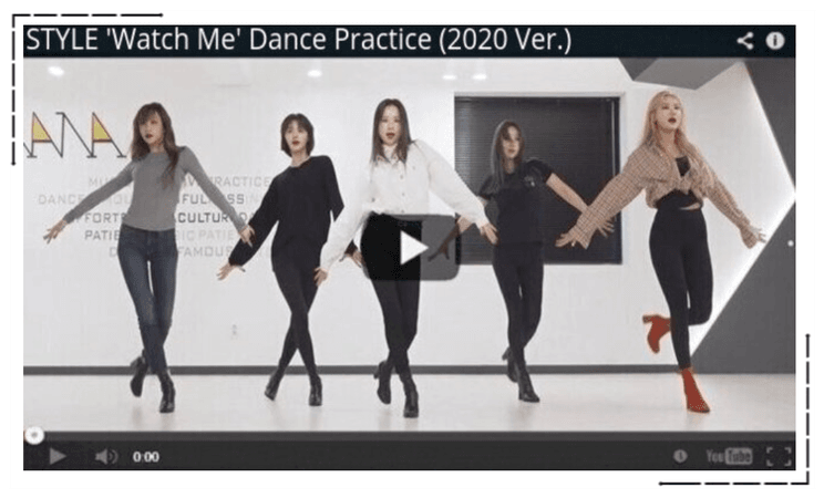 STYLE 'Watch Me' Dance Practice (2020 Ver.)