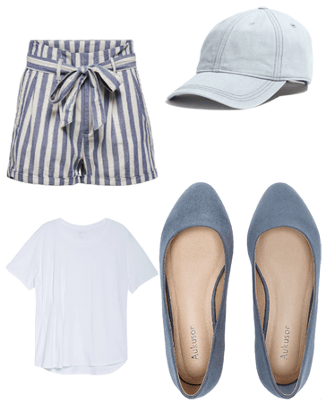 Striped with flats