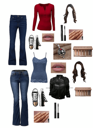 tvd Elena Gilbert inspired outfit