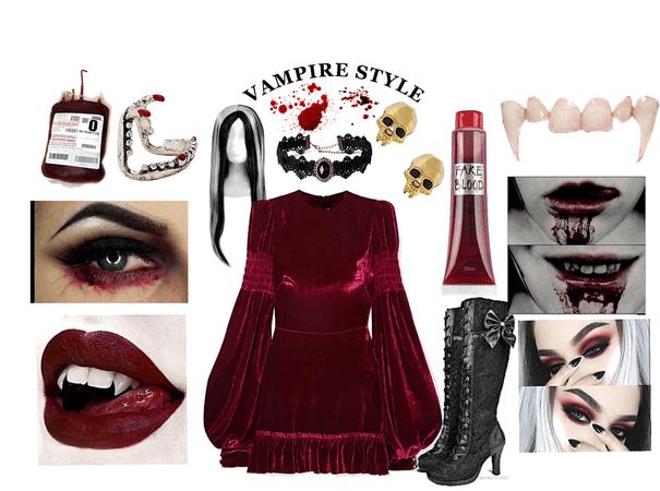 scary vampire.  - scary Halloween costume