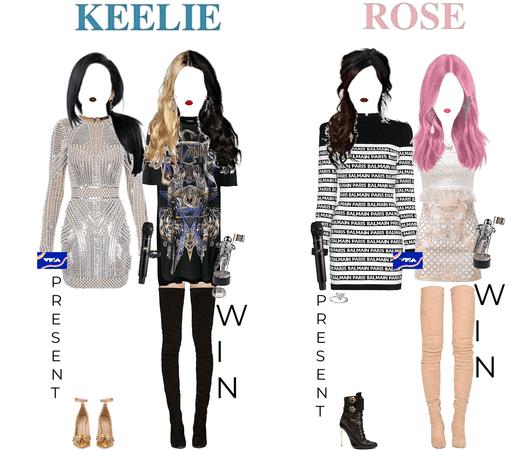 PRESENT: BEST alternative (Rosé) BEST latin (Keelie) | WON: BEST COLLABORATION (KEELIE X BAD BUNNY) PUSH BEST NEW ARTIST (ROSÉ) | VMA