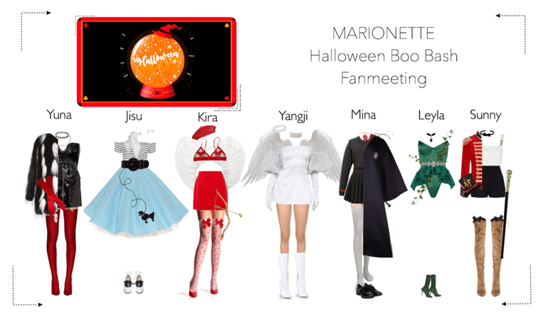 MARIONETTE (마리오네트) Halloween Boo Bash Fanmeeting