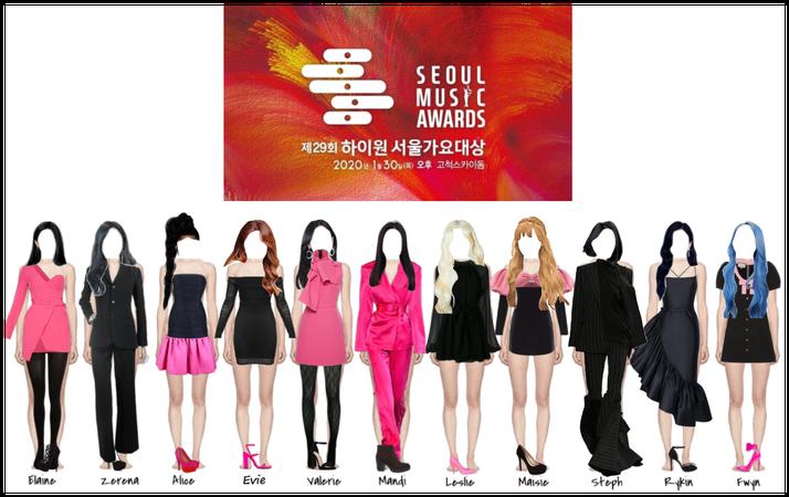PANDORA Seoul Music Awards Red Carpet