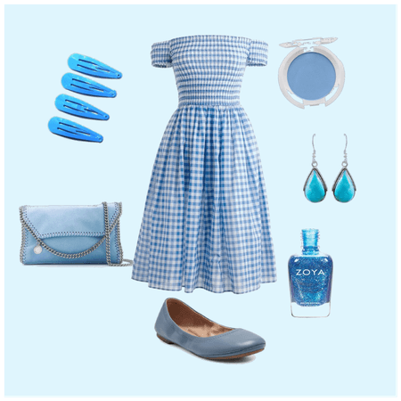 Blue in the summer