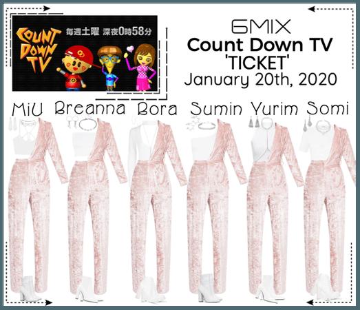 《6mix》CountDown TV