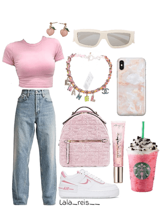 Pink Casual Outfit