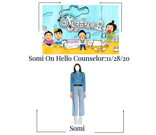 Somi On Hello Counselor Outfit