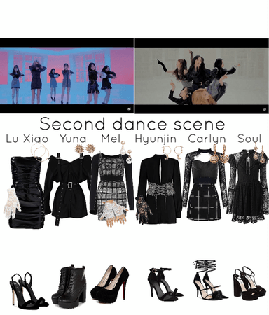 Secret MV- second dance scene