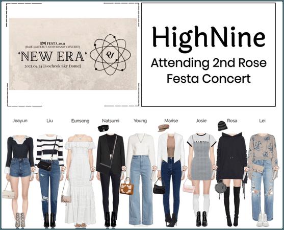 HighNine (하이 나인) Attending Rose 2nd Festa Concert