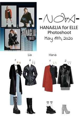 -NOVA- HANA&LIA for ELLE Photoshoot