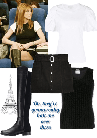 Rachel goes to Paris