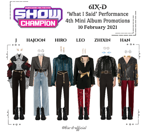 6IX-D [식스디] Show Champion 210210