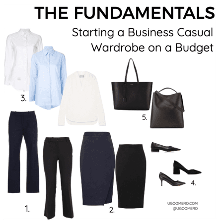 Starting a Business Casual Wardrobe on a Budget