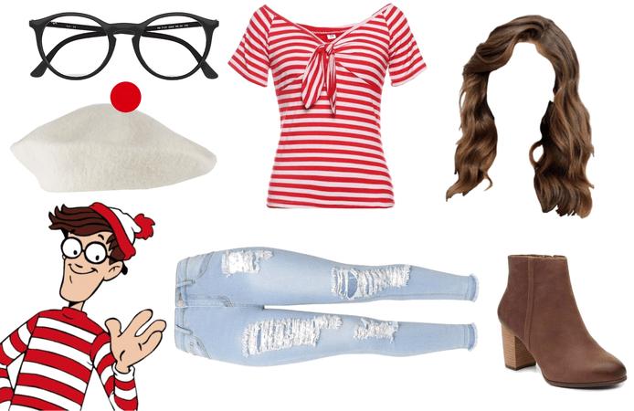 where's Waldo as a girl