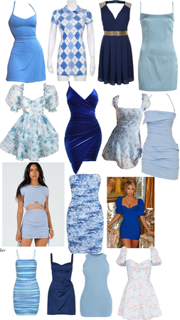 pick a date dress: Ravenclaw addition