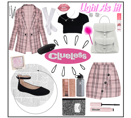 Clueless classic school outfit