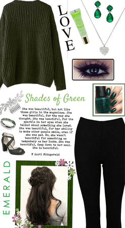 Girly in green...
