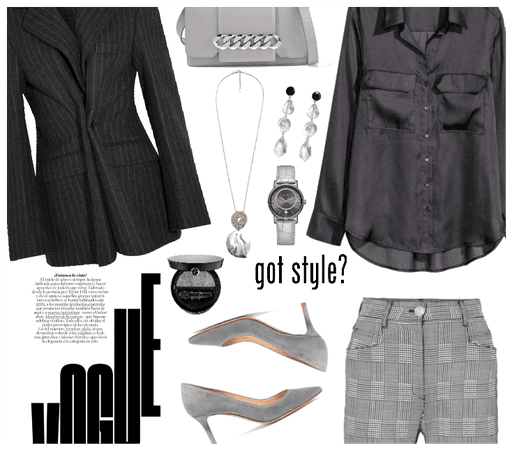 Career Chic: Grey Matter