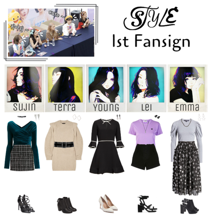 STYLE 1st Fansign