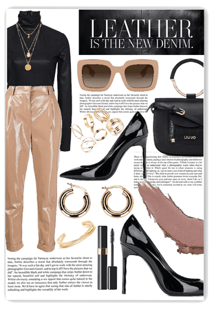 leather 🖤💛