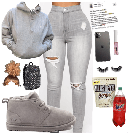Grey fit #Baddiefit