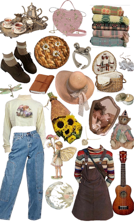 cottagecore lesbian picnic