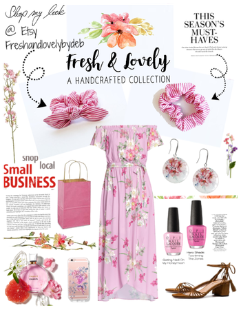Shop Local/Fresh floral look