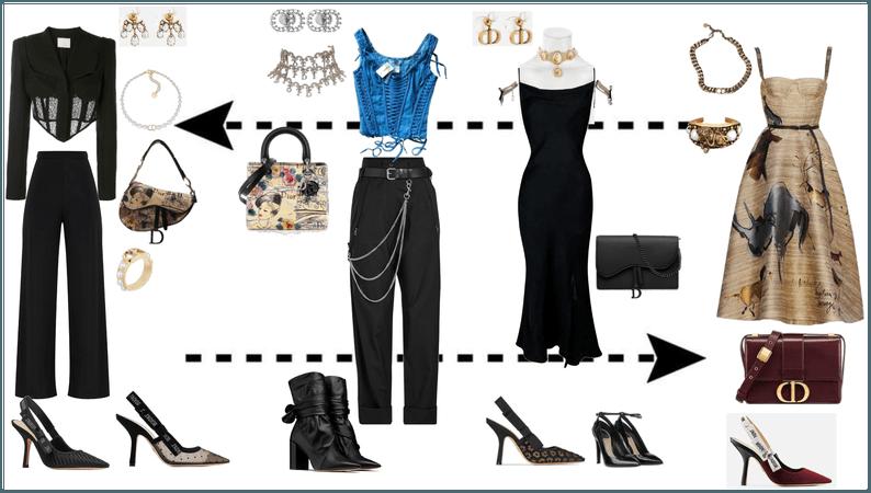 Dior fashion show ideas