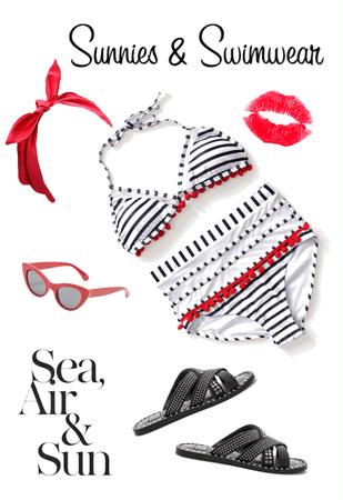 Retro Beachwear