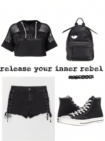 teenage rebel with a style