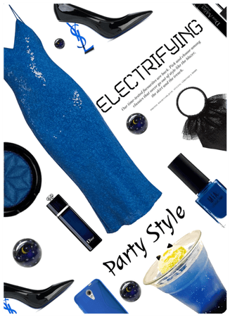 Electrifying! Electric Blue